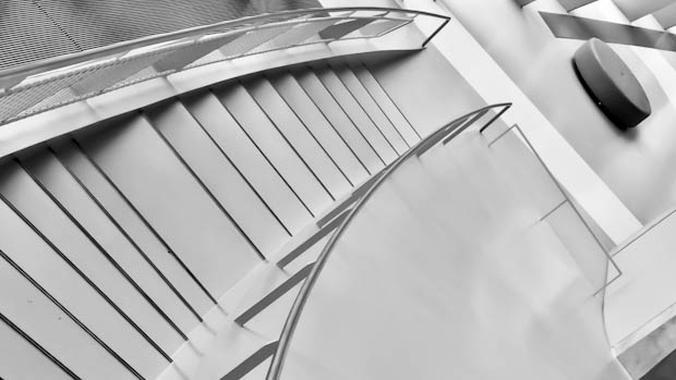 Stuttgart Museum Stairs
